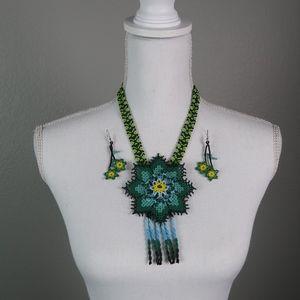 Huichol Jewelry Set